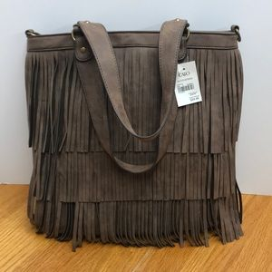 Fringe Boho Shoulder Bag